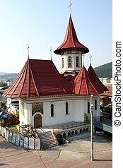 Church in Piatra Neamt, Moldavia, Romania
