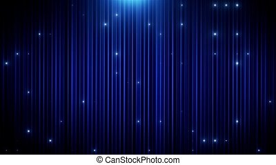 Blue glitter led animated VJ background