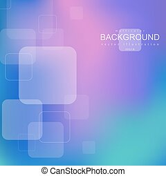 ?????? - Bright geometric abstract background with square...