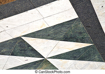 busto street varese abstract a curch and marble - busto...