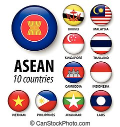 ASEAN ( Association of Southeast Asian Nations ) and membership .