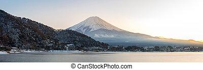 Mountain Fuji Kawaguchiko - Mountain Fuji view from the...