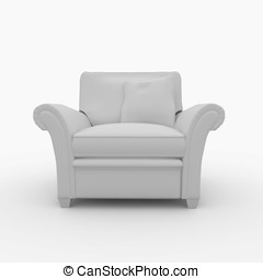 3d furniture detailed
