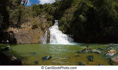 Whitewater Tumbles down Natural Steps at this Vietnamese...