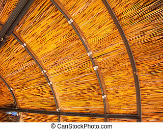 Underneath of Outdoor Umbrella, background