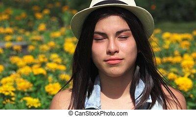 Teen Hispanic Girl