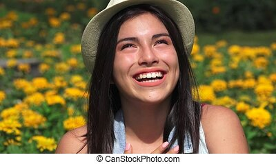 Fun And Happiness Female Teens