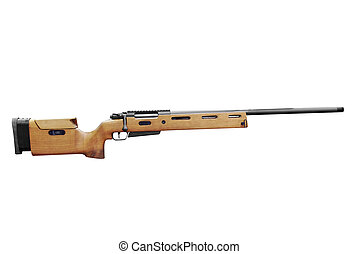 hunting rifle isolated