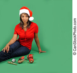 Beautiful Santa\'s Helper (1)