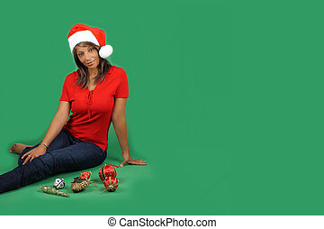 Beautiful Santa\'s Helper (2)