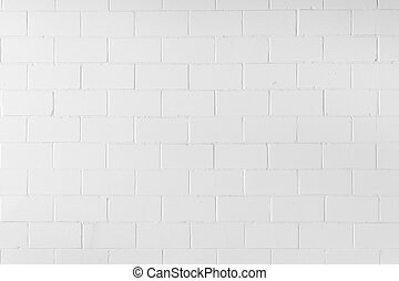 detail of white brick wall background