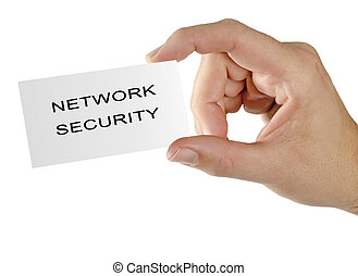 card for network  security