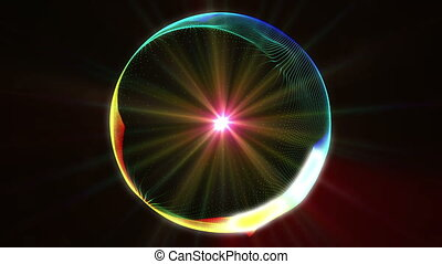 circle color abstract plasma