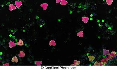 Fancy Ornamental Heart Flowing