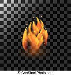 Fire Flame Element