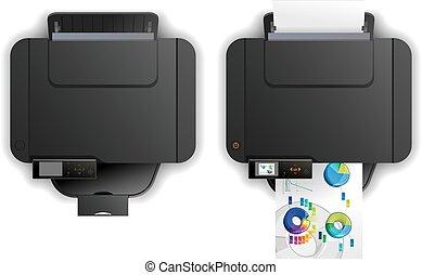función,  multi, impresora