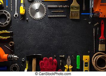 儀器, 黑色, 工具