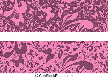 pink background - pink floral background