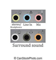 All sound input output
