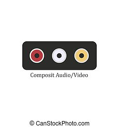Composit audio video