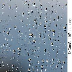 Raindrops background