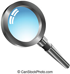 Magnifying Glass - An image of a magnifying glass.