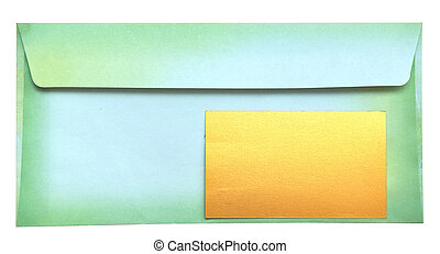 envelope with empty card - envelope with congratulatory card...