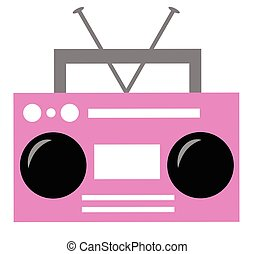 Pink Boombox