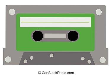 Green Cassette