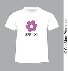 T-shirt design with