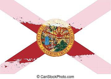 Florida Flag Splash