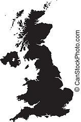 britain - map of britain