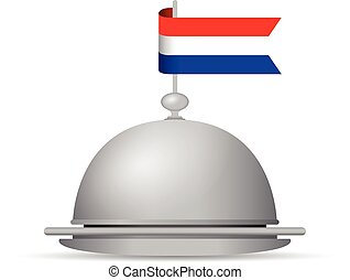 dutch flag platter