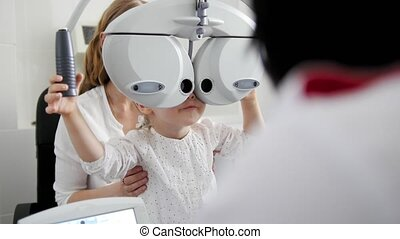 Children ophthalmology - telephoti view - optometrist Checks...