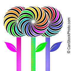 Flower- lolly