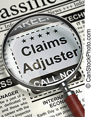 We are Hiring Claims Adjuster. 3D. - Claims Adjuster - Close...