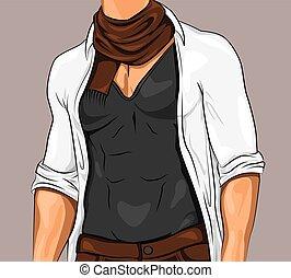 Stylish Attractive Man