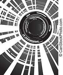 camera lens - abstract camera lens
