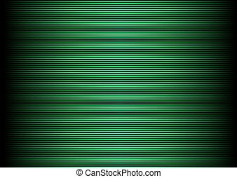 Scan screen - Abstract green striped lined horizontal...