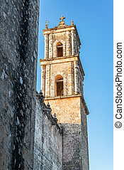 Valladolid Cathedral Spire - Tower of the cathedral of San...