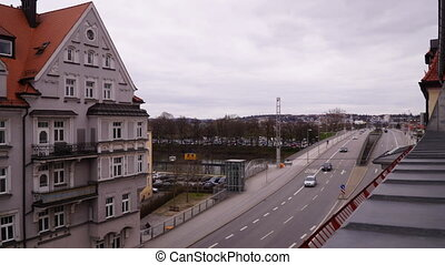 Time lapse from a bridge in Regensburg, Bavaria, Germany by...