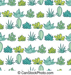 Vector Blue Green Stripes Seamless Repeat Pattern With...