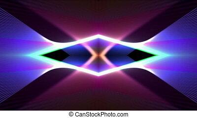 color neon light,flare laser banner background,Dazzling...