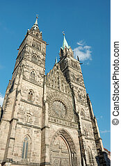 Evangelical Lutheran St.Lorenz Church in Nuremberg