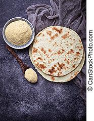 Mexican tortillas and corn flour - Mexican tortillas and...