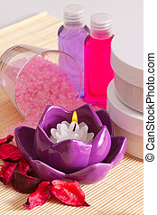Items for spa therapy