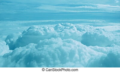 Aerial View of a Cloud Deck at Five Thousand Meters -...