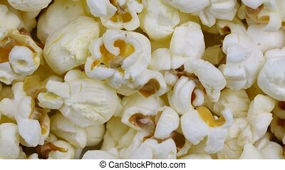 popcorn background rotates