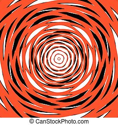 Random concentric circles. Abstract background with...