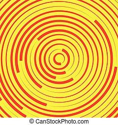 fondos, elementos, patrón, Extracto, anillos, círculos,...